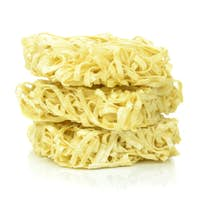 Stack of Dried Instant Noodles