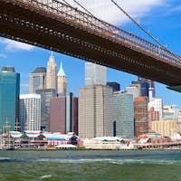 Brooklyn Bridge panorama