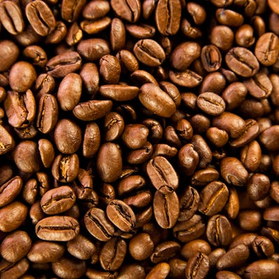 Brown coffee, background texture. roasted coffee beans. Brown co