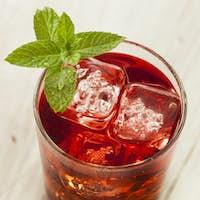 Cold Refreshing Berry Hibiscus Ice Tea