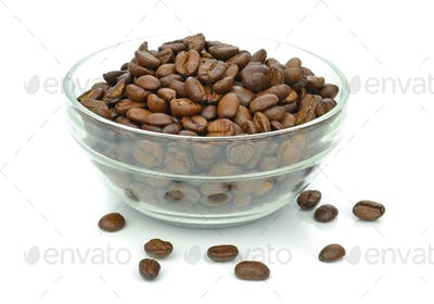 A Bowl of Coffee Beans