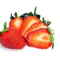 Fresh Sliced Strawberries