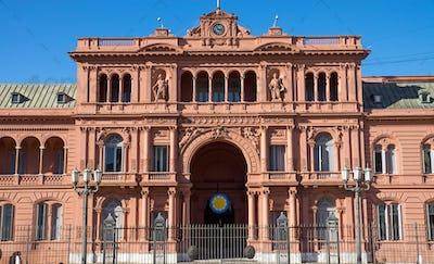 The Casa Rosada in Buenos Aires