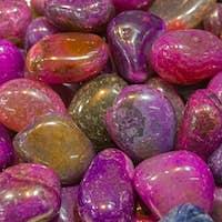 Background of semiprecious stones