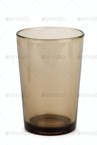 Dark drinking glass