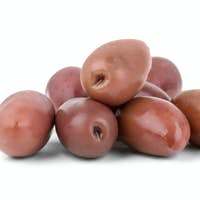 "Small pile of purple ""Kalamata"" olives"