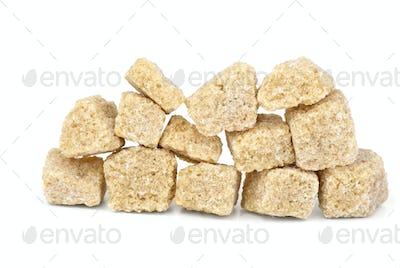 Few pieces of brown sugar