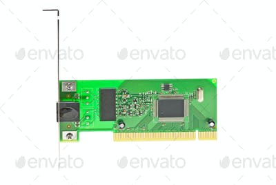ISDN (or LAN ethernet) PCI adapter