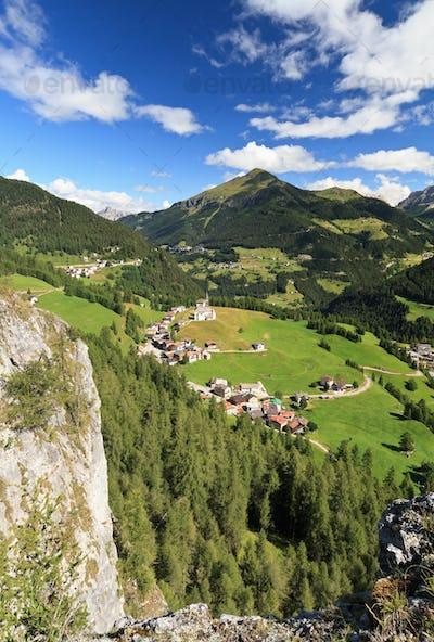 Laste and Cordevole valley