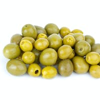 Small pitted and giant olives