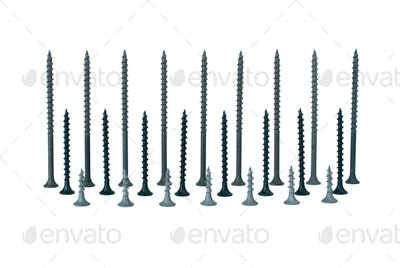 Some standing different screws