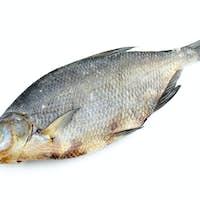 Dried bream fish