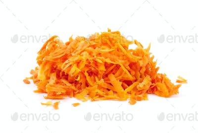 Some grated carrot