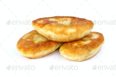 Three fried pies