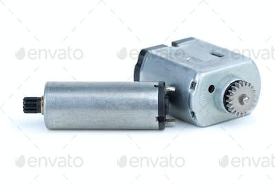 Pair of DC electric motors