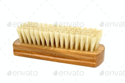 New clothes (or shoe) brush with wooden handle