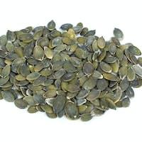 Some shelled pumpkin seeds