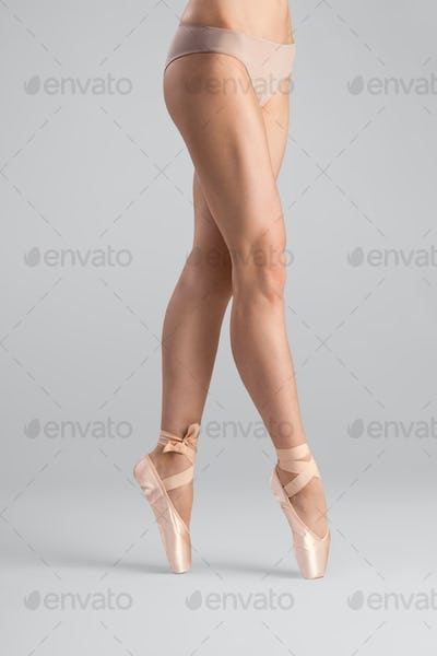 The legs that are made for ballet.