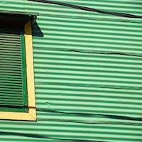 Window in La Boca, Buenos Aires