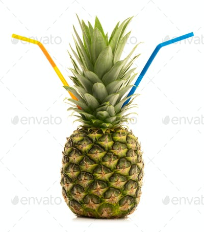 Drinking Pineapple