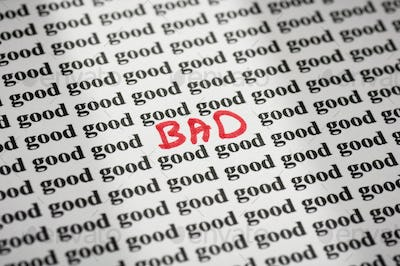 Bad in Good