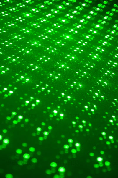 Green laser lights background