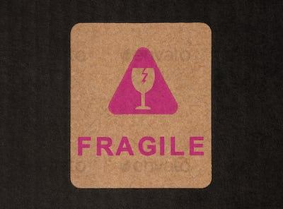 Fragile Warning Sign