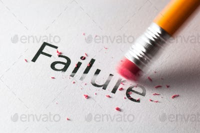 Erasing Failure