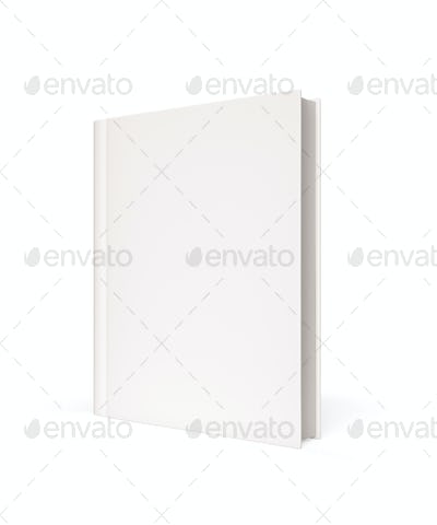 Isolated Blank Book