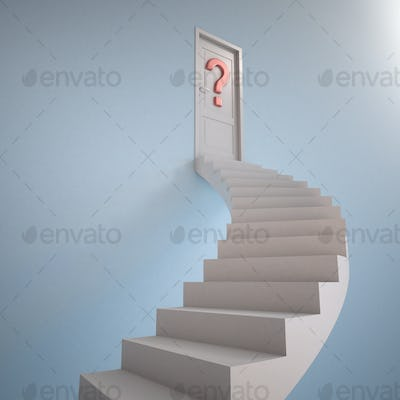 Stairway to the question mark