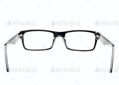 Eye glasses seen from back view