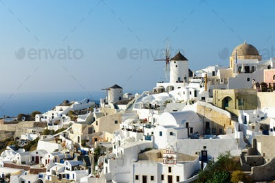 Beautiful Oia village