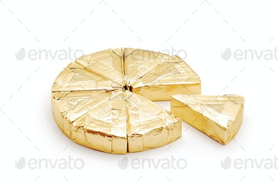 cheese in foil