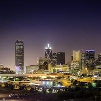 Downtown Dallas Illuminated