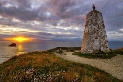 Sunset on Lighthouse Hill