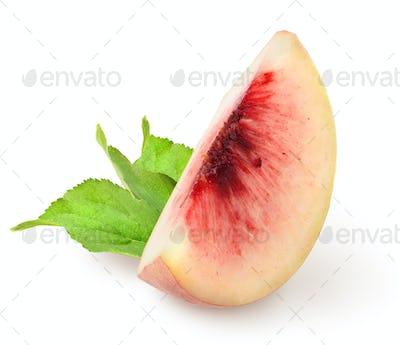 Chopped peach