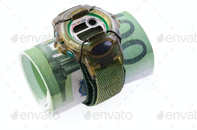 watches and banknotes