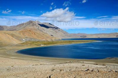 Lake in Himalayas