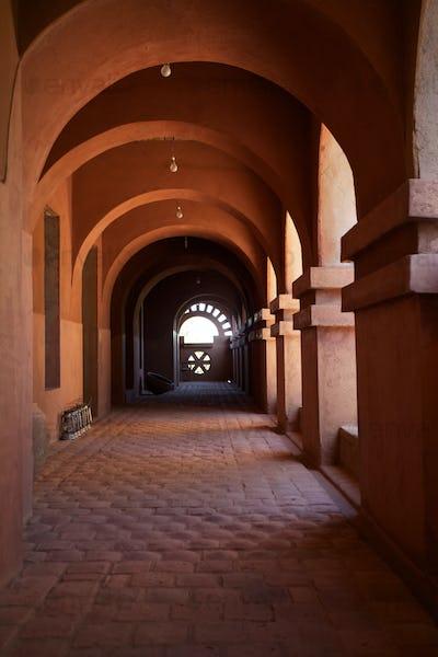 Moroccan architecture in Mopti Dogon Land