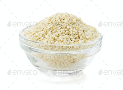 sesame seed in bowl