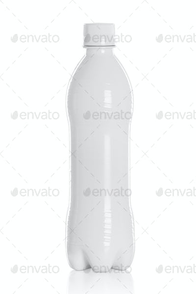 white plastic bottles for liquid Product