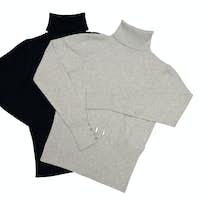 Stylish  sweaters on a white.