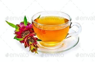 Herbal tea with bergamot