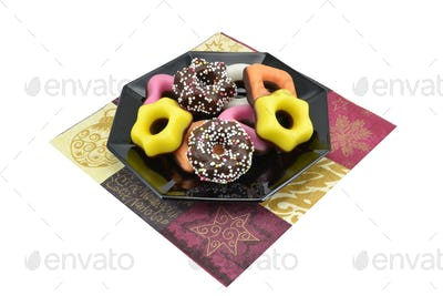 Sugar Icing Covered Chocolate Candies