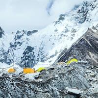 Everest Base Camp mountains landscape