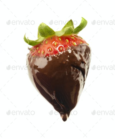 Dripping Chocolate Covered Strawberry