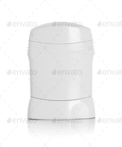 Clear blank brands of the deodorant bottle