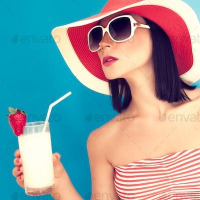 sensual girl summer