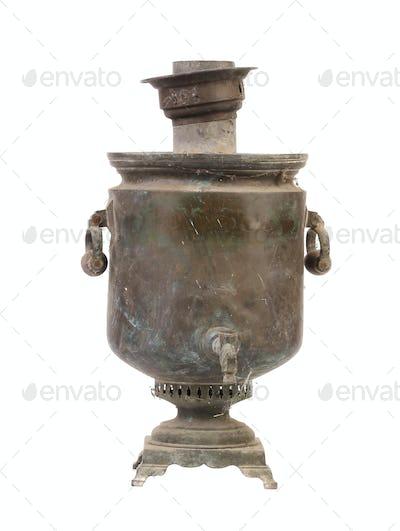 Old vintage samovar.