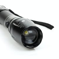 Metal flashlight